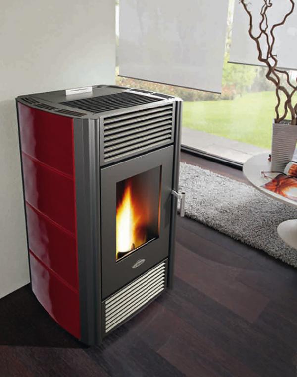 Estufas de pellets de alto rendimiento estufas alto for Calderas calefaccion lena alto rendimiento